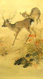 Painting of Deer