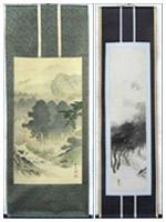 Japanese scroll paintings