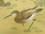 Japanese painting of duck