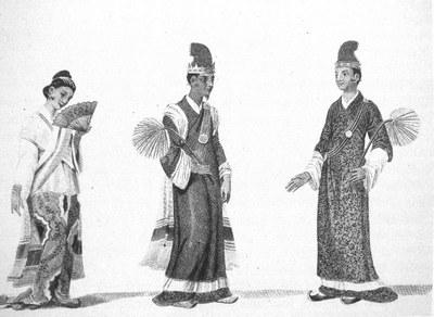 Burmese Court Officials
