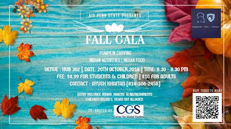 Fall Gala 2018 Poster